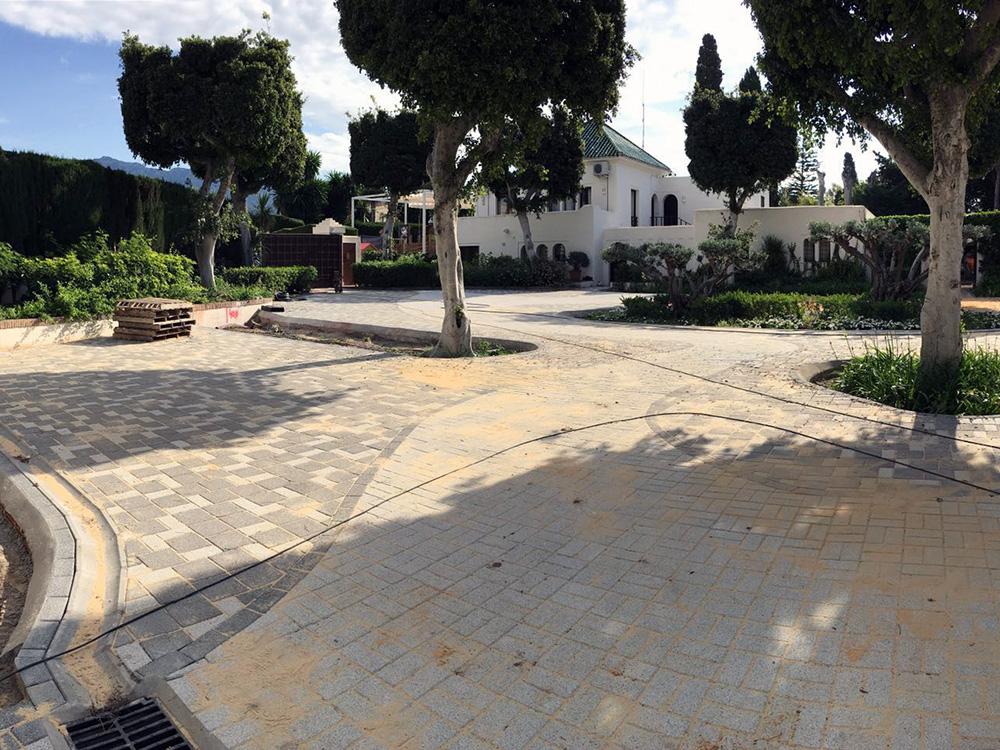 Reparación muro y canalización Villa Rincón – by nok