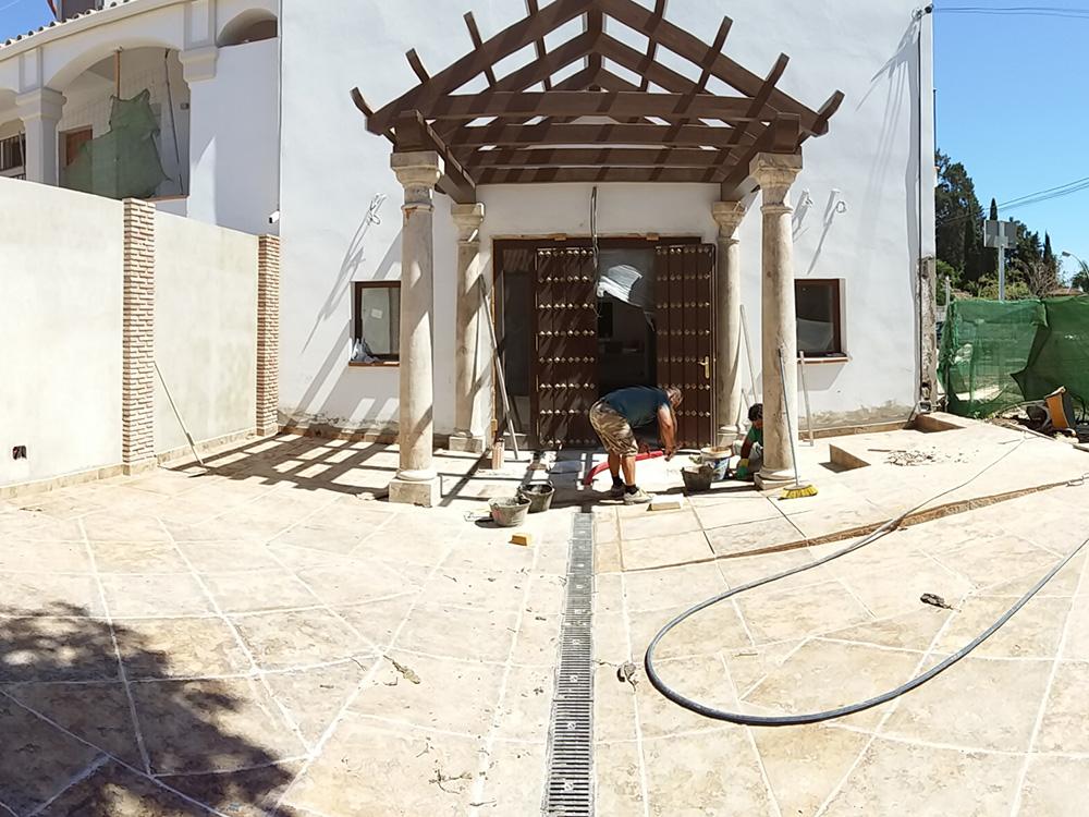 Obras Hotel Alcotán